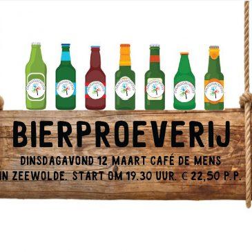 Malawigroep organiseert Bierproeverij in Café De Mens